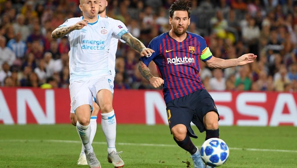 Lionel Messi was sublime against PSV