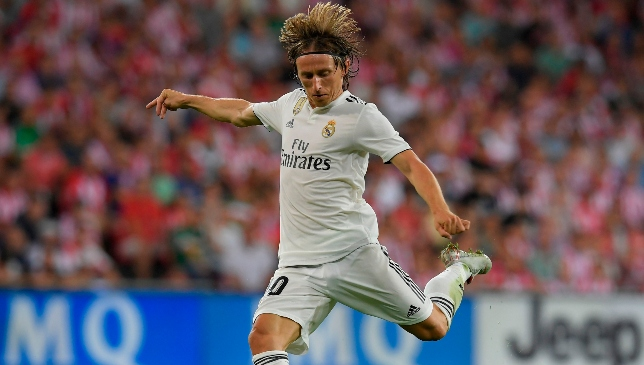 Fresh from his 'The Best' award, Luka Modric will feature.