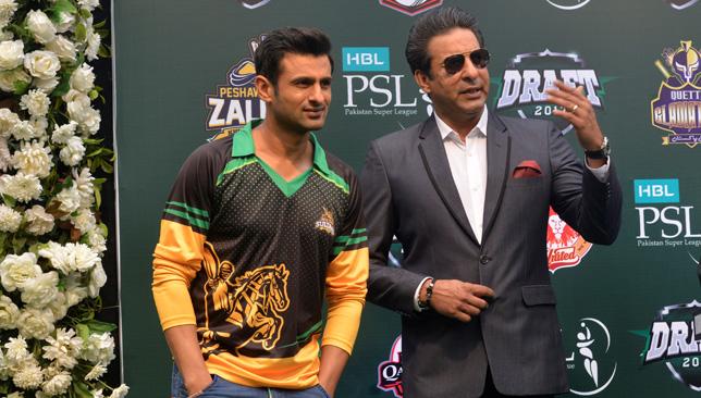 Shoaib Malik was praised by Wasim Akram