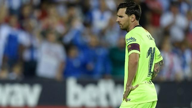 e26e2794791 Barcelona boss Ernesto Valverde describes defeat to Leganes as 'not an easy  moment'