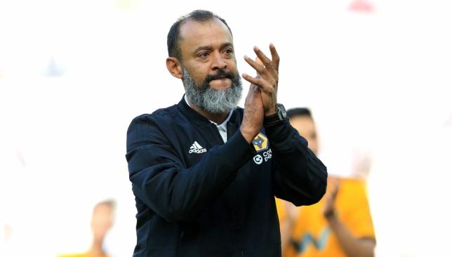 Nuno Espirito Santo has led Wolves to seventh in the Premier League.