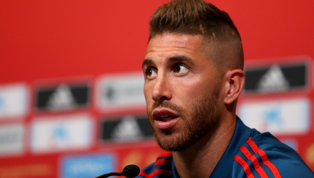 df9eb257106 Football news  Real Madrid hero Sergio Ramos wants to mark 160th ...