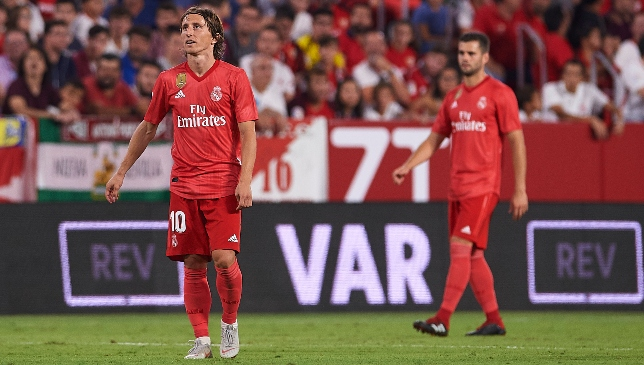 It was a disappointing night for Los Blancos in Seville.