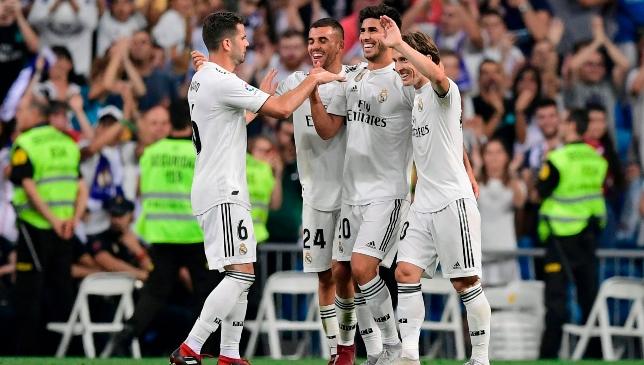 Marco Asensio gewann den Sieger für Real Madrid.