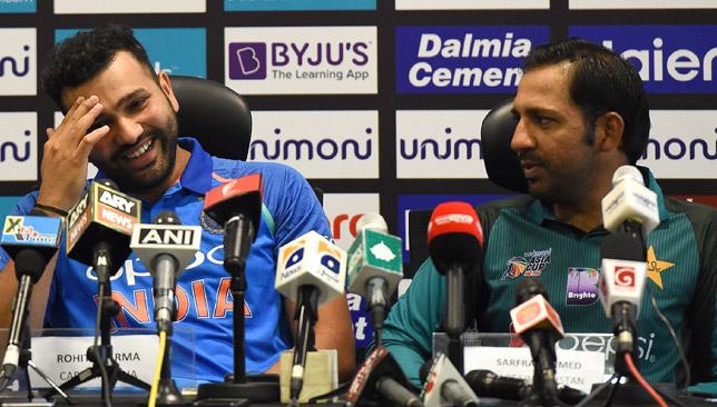 Rohit Sharma (left) is ready to ring the changes for Pakistan clash