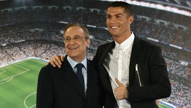 Starke Bindung: Florentino Perez und Cristiano Ronaldo.