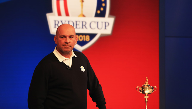 Fleetwood has made Team Europe, under the control of Thomas Bjorn.