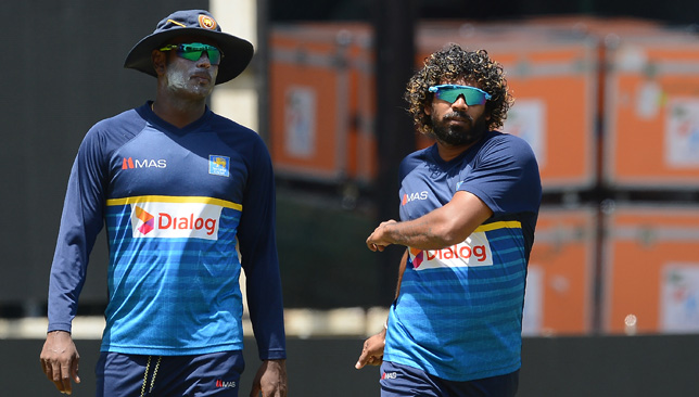 Lasith Malinga (R) and Angelo Mathews are part of Sri Lanka's squad