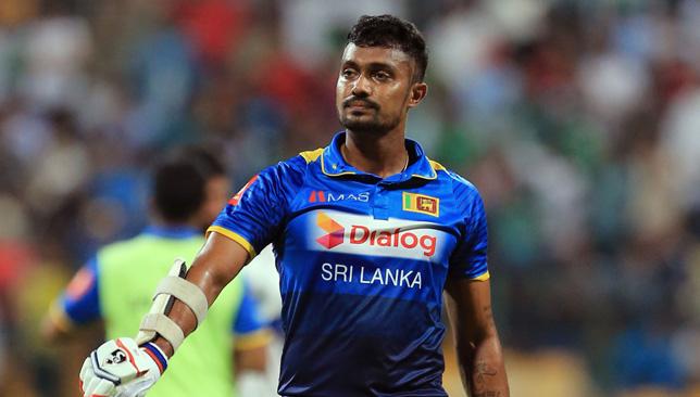 Sri Lanka's Dhanushka Gunathilaka injured himself on Thursday