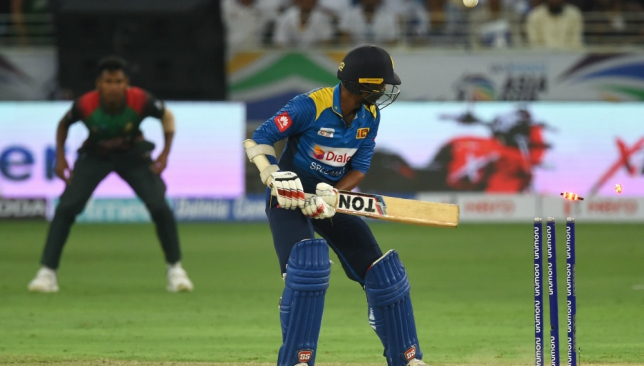 A sorry effort from the bat by Sri Lanka.