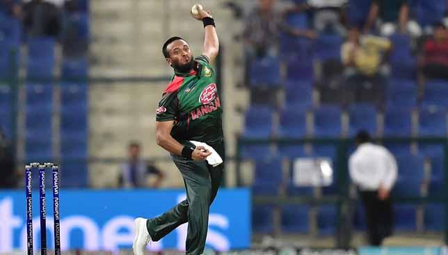 Shakib Al Hasan has returned home to Bangladesh from UAE.