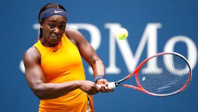 Top six seed: Sloane Stephens.