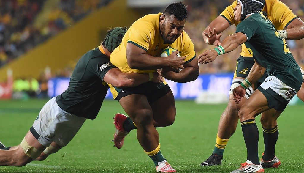 Taniela Tupou made a huge impact in the second half