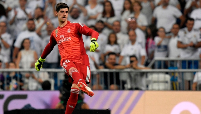 Debut in the Los Blancos goal: Thibaut Courtois.