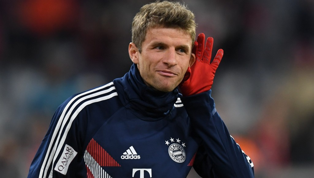Thomas Muller scored off the bench in Bayern's Champions League opener.