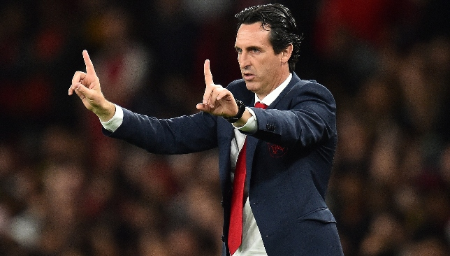 Unai Emery will be looking to get a result against Spurs