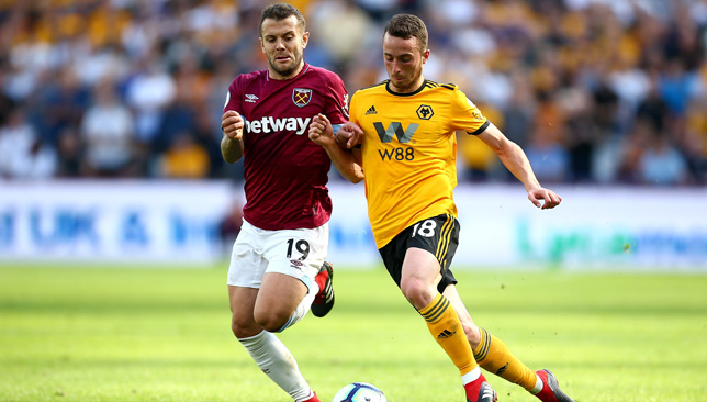 Jack Wilshere will be missing for West Ham