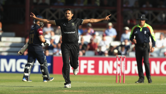 Abbas has impressed in his maiden stint with Leicestershire.
