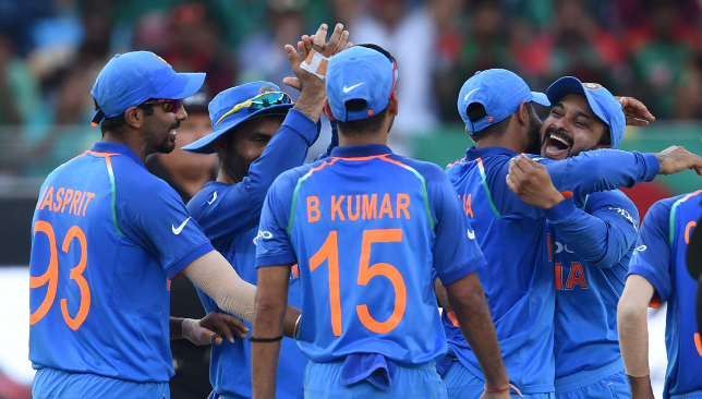 India bounced back excellently in the middle overs.