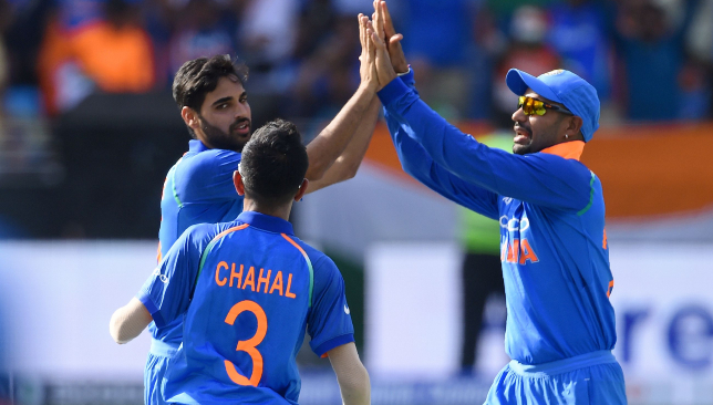 Bhhuvneshwar Kumar picked up three wickets.