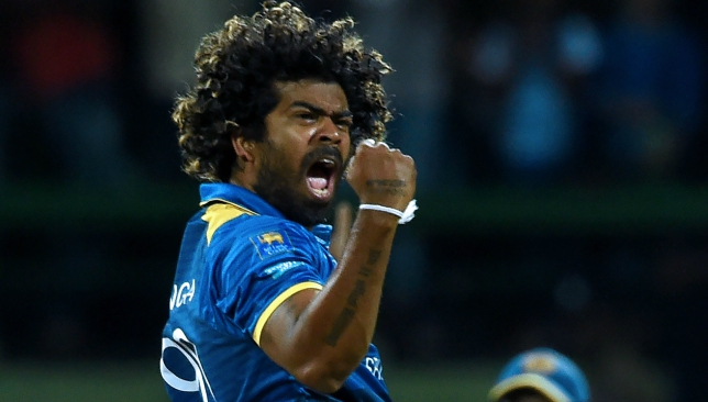 Lasith Malinga picked up two wickets in his very first over.