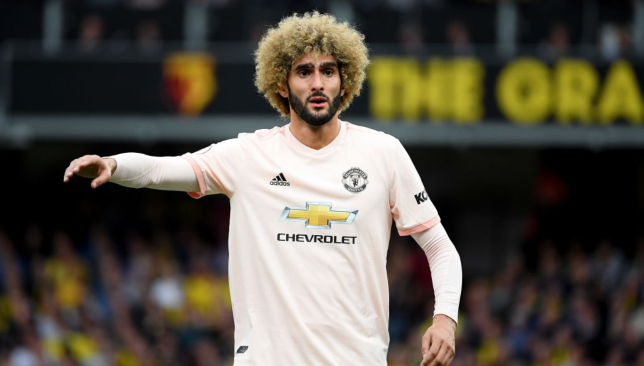 Fellaini looks to have severed ties with United.
