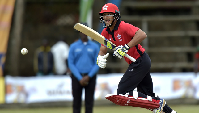 Hong Kong's batsman Anshuman Rath was named captain last month