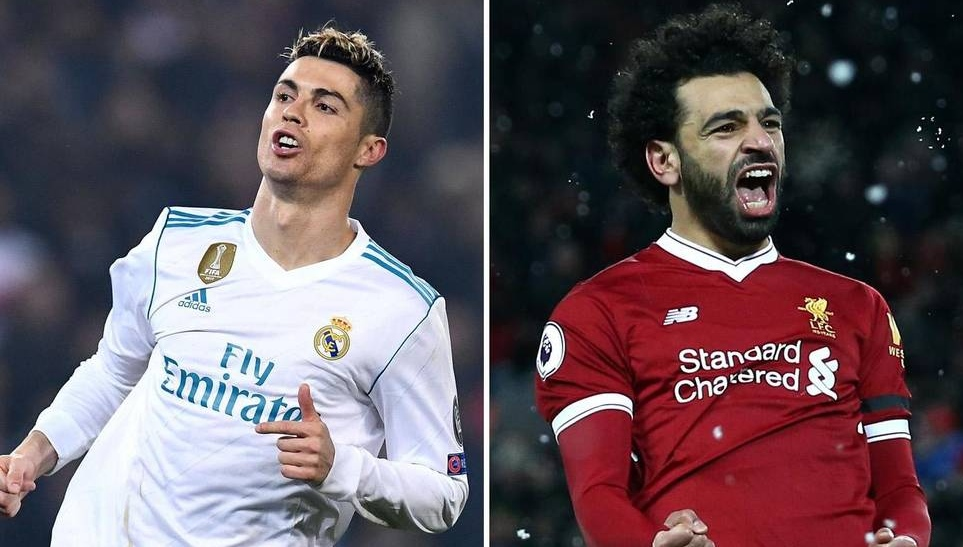 Ronaldo is up against Mohamed Salah for the top award