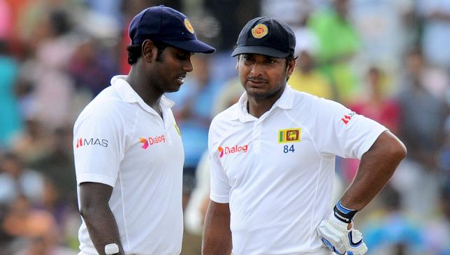 Sangakkara has urged Mathews to take up bowling again.