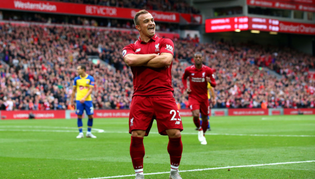 Liverpool News Xherdan Shaqiri Could Hold The Key Against Manchester United Sport360 News