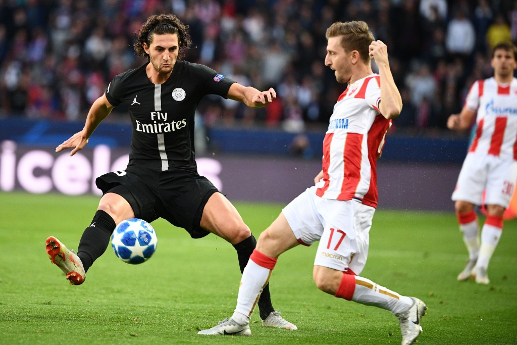 Rabiot is making sure his performances don't dip despite the contract stand-off.