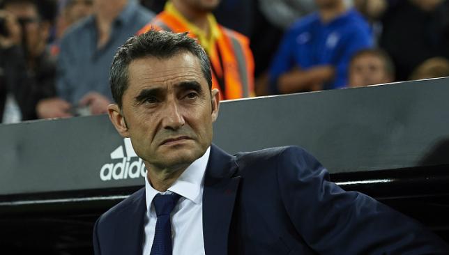 Ernesto Valverde's side are winless in four La Liga games.