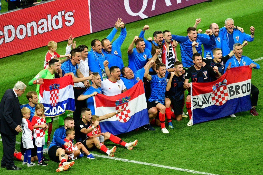 Croatia won to move onto their first World Cup final.