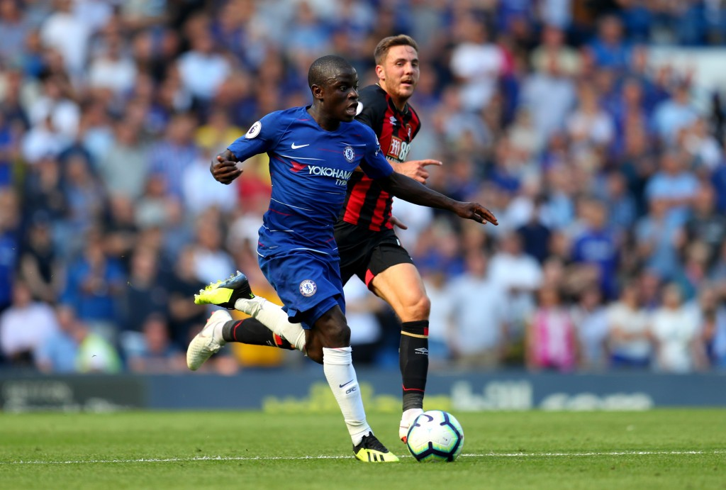 Kante's been thrust into an unfamiliar role this season.