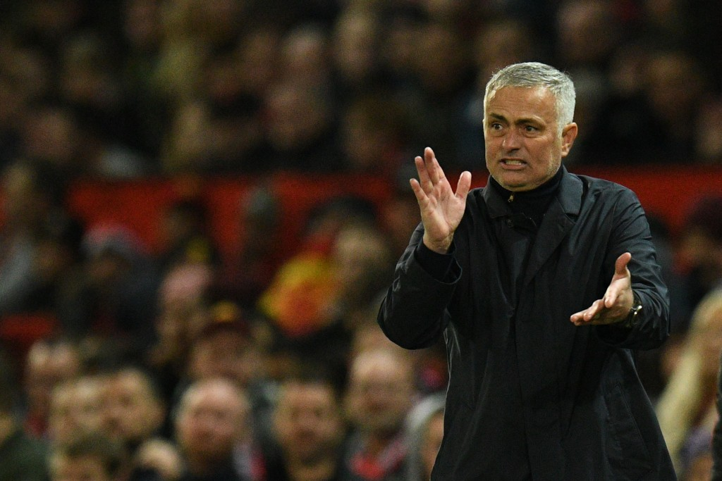 Mourinho blows gasket after Manchester United coughs up lead