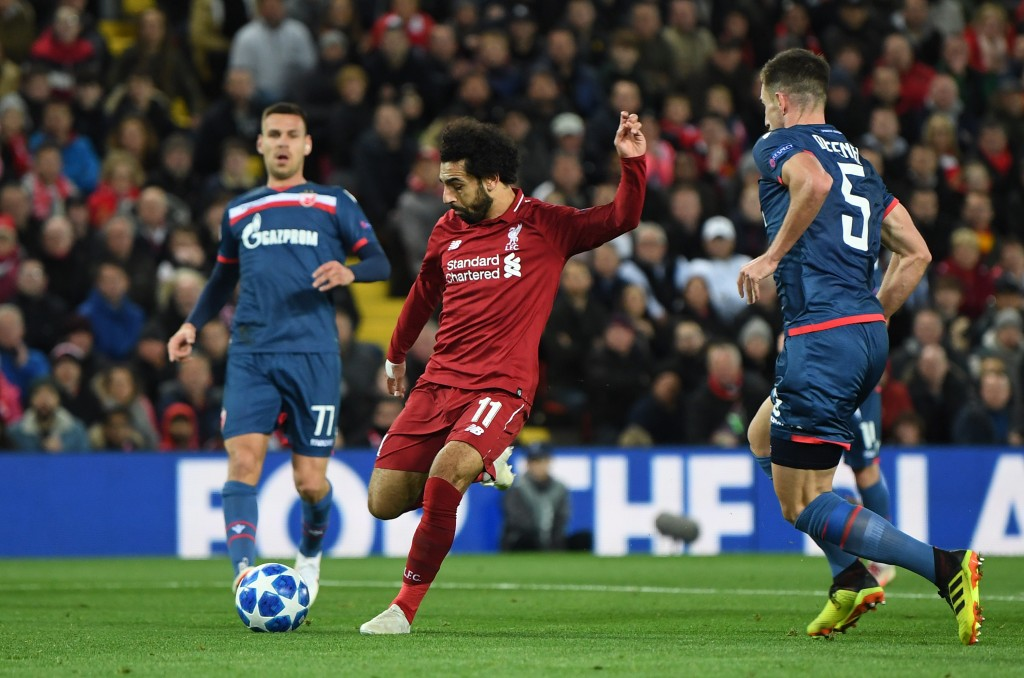 Salah looked back to his best.