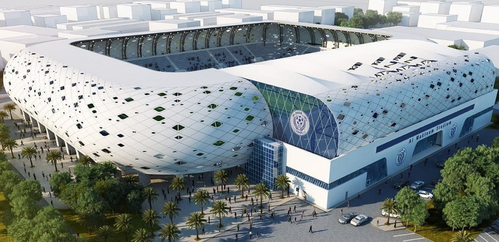 Under development: Plans for the updated Maktoum bin Rashid Al Maktoum Stadium