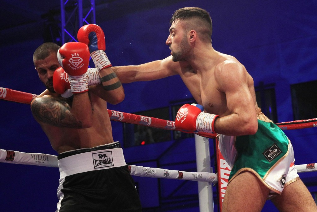 Power puncher: Dubai boxer gets another win