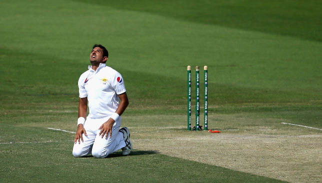 Mohammad Abbas' meteoric rise in Tests continues.