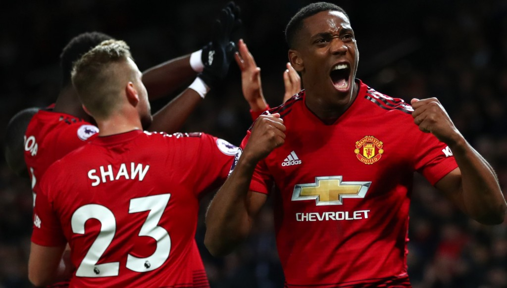 Anthony Martial was among United's best in the comeback win over Newcastle.