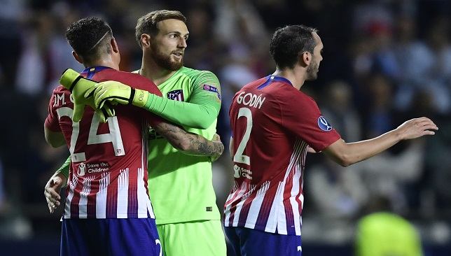 Atletico Madrid's season is in Jan Oblak's hands, literally