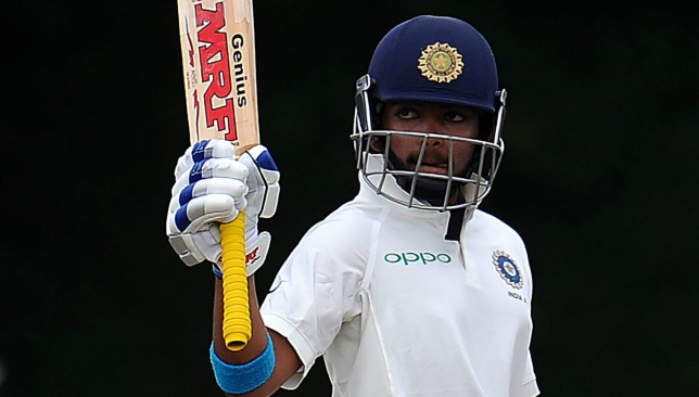 A classy debut by Prithvi Shaw: Image - ICC/Twitter.
