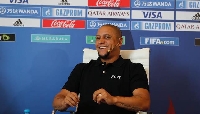 Roberto Carlos spoke to media in Abu Dhabi on Saturday
