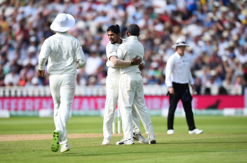 Umesh was given just the one Test on the tour of England.