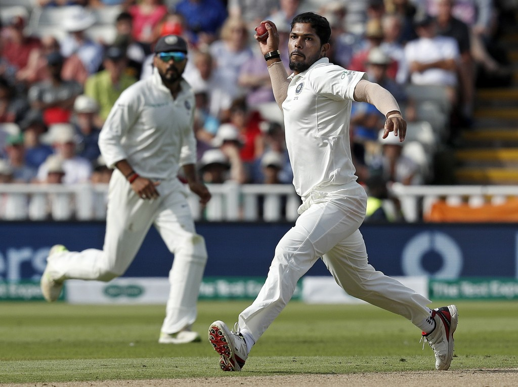 Chance for Umesh to regain his footing in India Test squad.