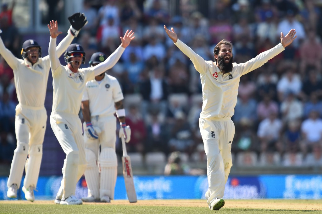 Ashwin was outbowled by Moeen in the Southampton Test.