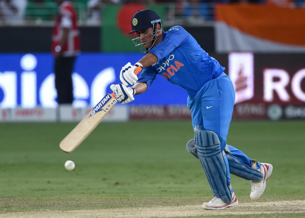 Dhoni's batting powers continue to wane.
