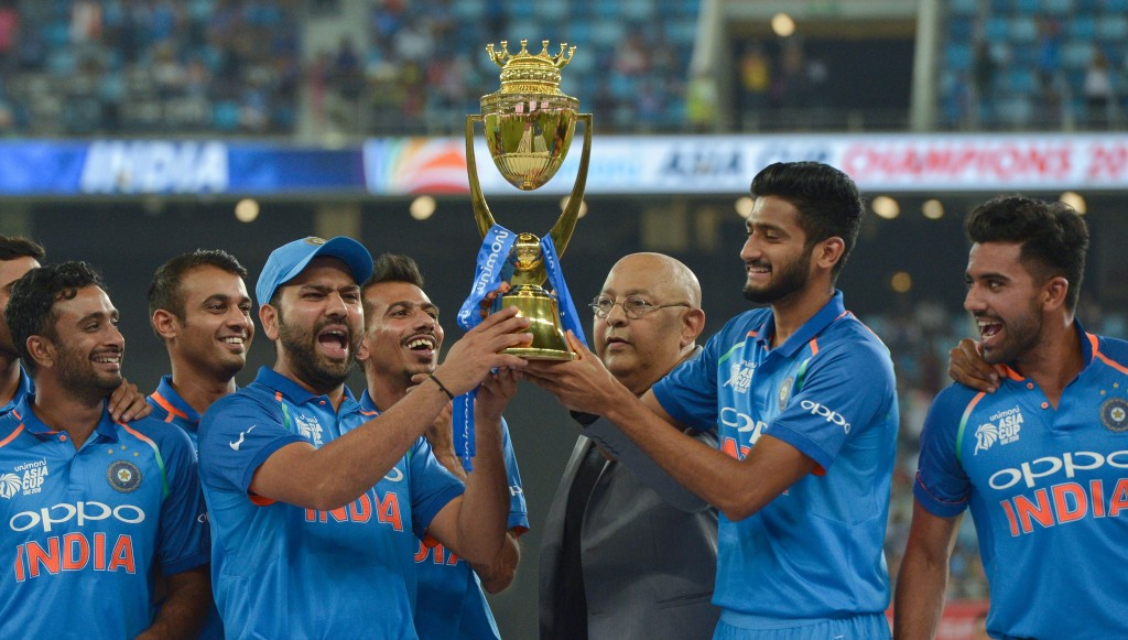 Rohit recently led India to the Asia Cup title in the UAE.