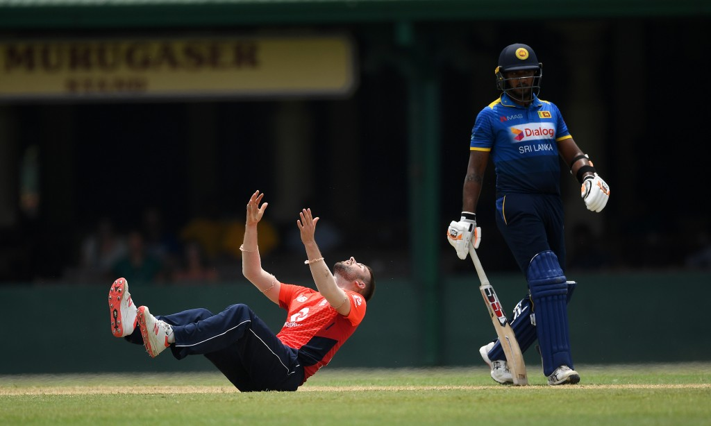 Woods picked up 2-38 in the tour-game against Sri Lanka Board XI.