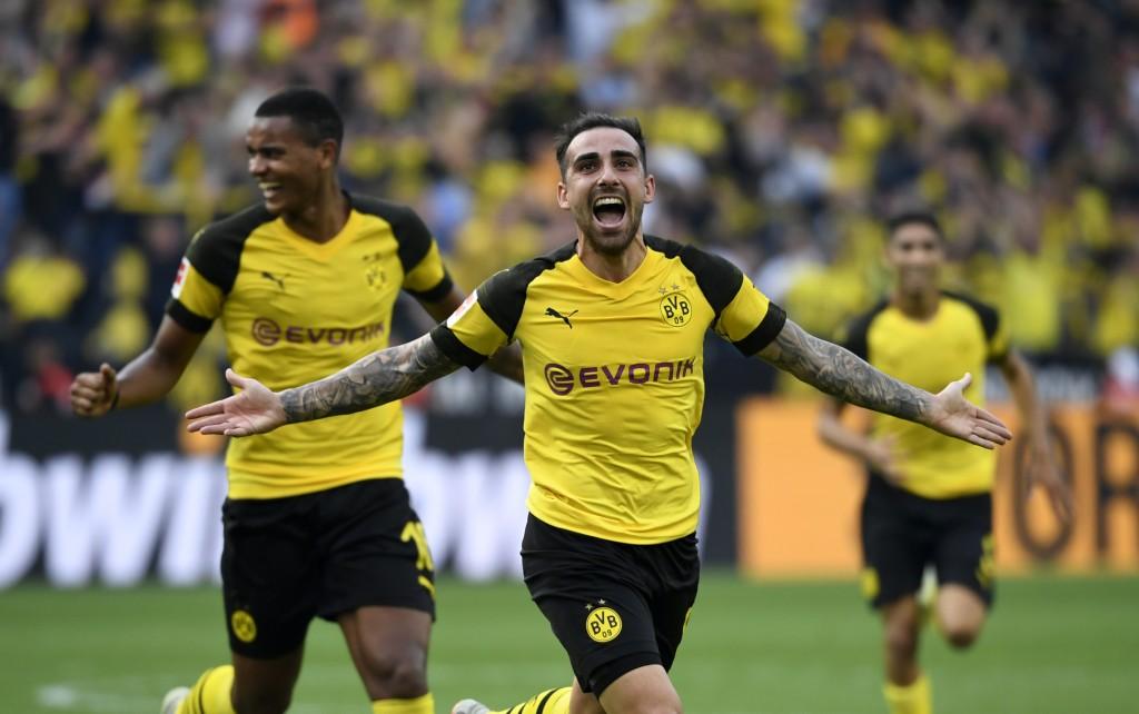 Alcacer has been in fine goal-scoring form for Dortmund.